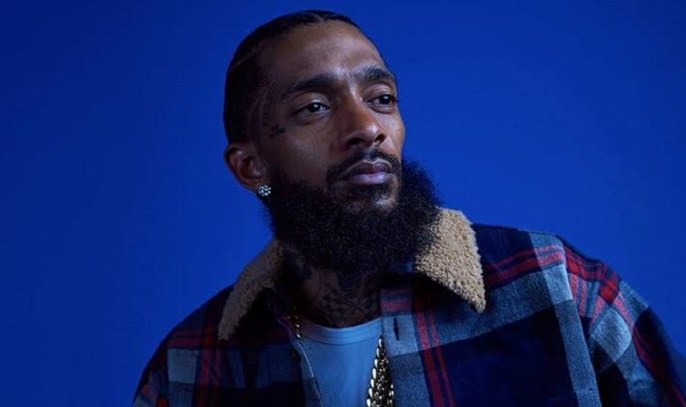 Former American Rapper Nipsey Hussle And Girlfriend Lauren London Have Kids Kross Asghedom And Emani Asghedom